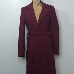 Old Navy Wool Blend Trench Coat